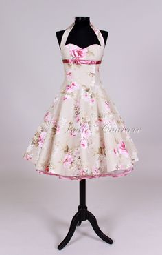 Petticoatkleid Mod. Pretty Roses II
