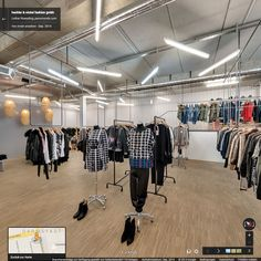 Google Street View Innenansicht // hechler & nickel fashion gmbh - September 2014 #StreetViewTrusted #GoogleStreetView  www.panomondo.com