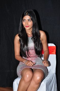 Pooja Hegde at OLK Success meet.