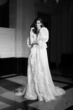 Wedding Dress Trends, Best Wedding Dresses, Wedding Gowns, Bridal Fashion Week, Lace Flowers, Lovely Dresses, Bridal Collection, Bridal Style, Viktor Rolf