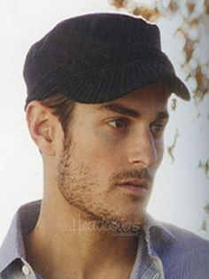 Mens Wool Knitted Paperboy Hat