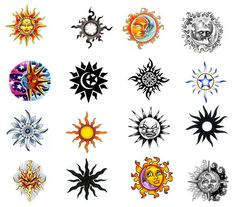 They can be done as the simple sun and moon tattoo or they can be inked in detailed lines and drawings. Description from bodygrafixtattoo.com. I searched for this on bing.com/images