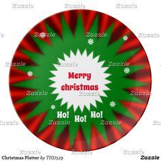 Christmas Platter Dinner Plate