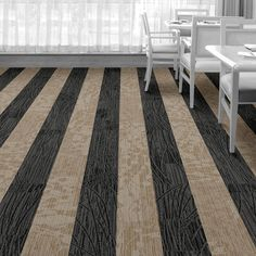 Interface Floor Design       | WE152: Onyx, WE154: Wheat |       Find inspiration for your next interior design project with floors composed of modular carpet tiles from Interface