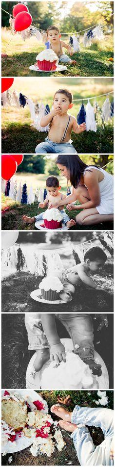 massachusetts cake smash photographer  BIRD PARK WALOLE. MA -- Sarah driscoll photography