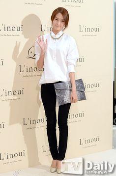 Girls' Generation's YoonA at L'INOUI's event SNSD Deer