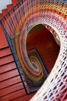 Amazing stairwell. - Imgur