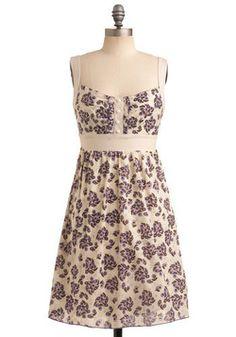 sweet summer vintage dress