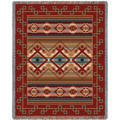 Las Cruces Art Tapestry Throw