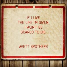 """""""The Once and Future Carpenter,"""" The Avett Brothers"""