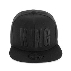 #Johnny #Chicos #Snapback #Cap #KING, #QUEEN, #MUSIC, #Größe:One #Size