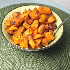 Curry Sweet Potatoes - Pinkie's Oinkments