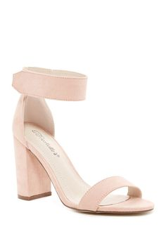 Image of Breckelle's Aniston Ankle Strap Sandal
