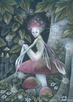 [Fantasy art] Forest Secret by flowerelfe at Epilogue