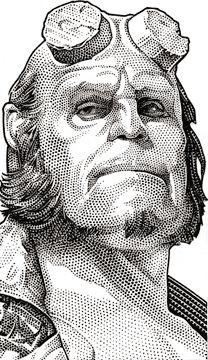 Google Image Result for http://randyglassstudio.com/blog/wp-content/uploads/2011/05/Wall-Street-Journal-Hedcut-Ron-Perlman-Hellboy1.jpg