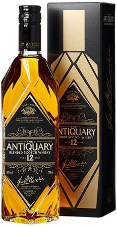 The Antiquary 12 Years Old mit Geschenkverpackung  Whisky (1 x 0.7 l) Best Rye Whiskey, Scotch Whiskey, Bourbon Whiskey, Fun Drinks, Alcoholic Drinks, Cocktails, Blended Whisky, Strong Drinks, Whisky Bar