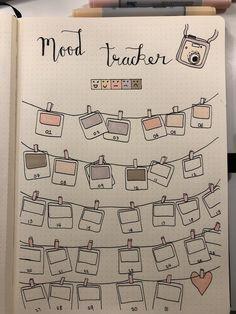 Growth Mindset Bullet Journal Ideen für Kinder - New Ideas Mood Tracker Bullet Journal Polaroid Design Stimmung Tracker Bullet Journal Polaroid Design.