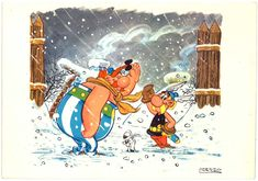 Asterix E Obelix, Morales, French Cartoons, Bd Art, Cartoon Books, Fairytale Art, Gouache, Colored Pencils, Fantasy Art
