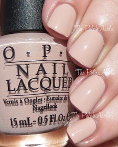 My current nail situation OPI Gel-Tiramisu for Two