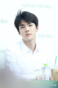 exo oh sehun Baekhyun, Park Chanyeol, Boys In Groove, Dramas, Rapper, Kim Minseok, Nature Republic, Exo Korean, Kpop Exo