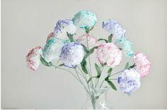 fleur en papier, DIY, enfants