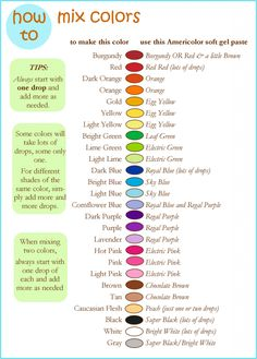 You searched for Color chart - Gretchen's Bakery