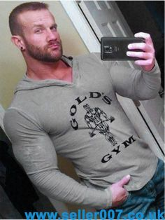 NEW Mens Bodybuilding Hoodies Gym Brand-clothing Workout Shirts Hooded #GoldsGym #Hoodie