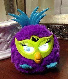 Furby Party Rockers Creature (Purple) Hasbro 3+ Boy/Girl Electronic Interactive #Hasbro