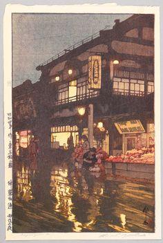 Hiroshi Yoshida – After Rain   Graphicine