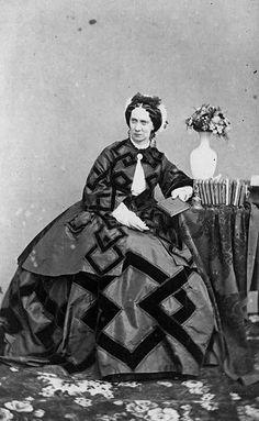 Empress Maria Alexandrovna wife of Tsar Alexander II, 1860s