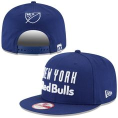 Men s New York Red Bulls New Era Navy 20th Anniversary Snapback Adjustable  Hat 319a7c711a1