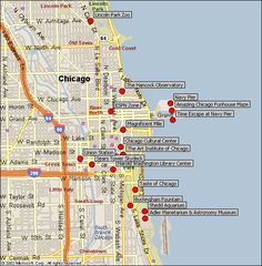 Detailed Downtown Chicago Map | chicago hotel rooms chicago tickets illinois state flag chicago jobs