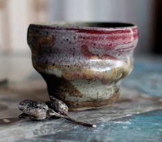 "herthen: "" (via rustic earthy cup by TierraSky on Etsy) "" Glass Ceramic, Ceramic Pottery, Rustic Bowls, Still Life Photos, Ivy House, Japanese Pottery, Tea Bowls, Ceramic Artists, Wabi Sabi"