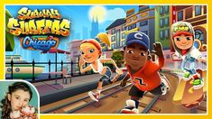 Subway Surfers: CHICAGO - ¡¡¡ Recomendado !!! Subway Surfers, Money Games, Chicago, All Family, Kids Playing, Mario, Channel, Youtube, Ios