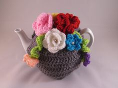New Design Grey Tea cosy for a medium or by SpecialHandmade444