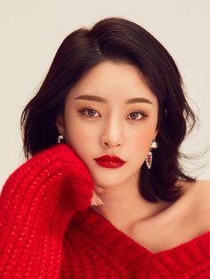 summermakeup – Hair and beauty tips, tricks and tutorials Korean Makeup Look, Korean Beauty, Asian Beauty, Beautiful Girl Image, Beautiful Asian Girls, Red Makeup, Makeup Looks, Sweet Makeup, Best Korean Moisturizer