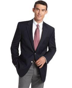 Michael by Michael Kors Jacket, Navy Blazer - Mens Blazers & Sport Coats - Macy's