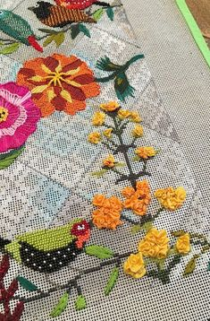 It's not your Grandmother's Needlepoint: This and That