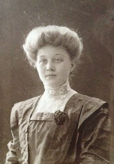 Swedish Edwardian Girl