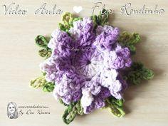 Vídeo aula Flor Rendinha - By Desi Winters