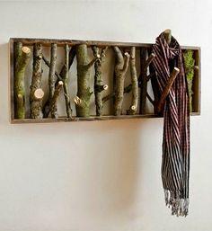 Natural Wooden Hooks | Оригинальные вешалки из веток