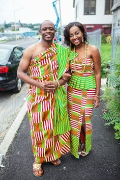 http://www.blackstarsquare.com/ osagyefoh: What has your culture taught you? Ghanaian couple wearing kente.