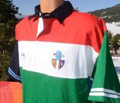 vintage 90s shirt RUGBY world cup 6 nations landsdowne short sleeve polo  golf new nwt XL Large 435a8ce22a