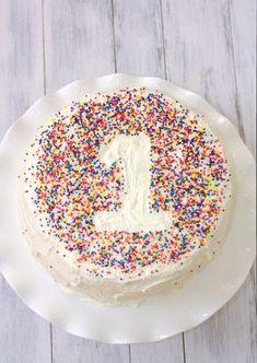 Tortendeko bunte Streusel Geburtstag