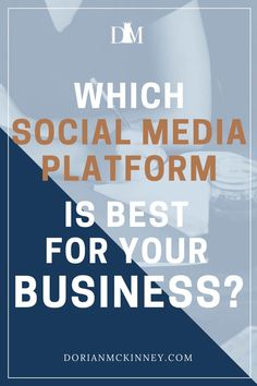 There are so many social media platforms. This post will help you decide the which platform is the right one for your brand.