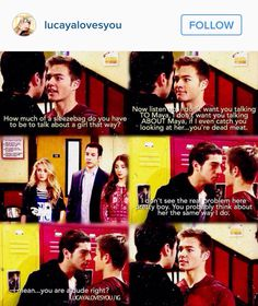 Lucas is so protective over maya did you not see girl meets creativity