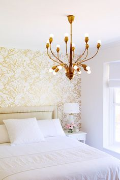 Why It Works: The Accent Wall | MyDomainePainting an accent wall can have the effect of creating a backdrop for a piece of furniture or a living area that you'd like to be the focal point of a room. The most common cases for this would be the wall behind a bed or a sofa.