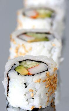 CALIFORNIA ROLL [USA, Los Angeles, American-Japanese Cuisine] [sushi]