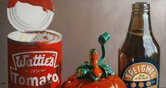 Barbeque Essentials (Speights) by kiwiana artist Matt Guild