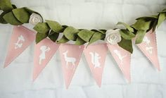 Banner from Pastel Fairy Themed Birthday Party at Kara's Party Ideas. See more at karaspartyideas.com!